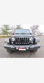 2016 Jeep Wrangler 4WD Unlimited Rubicon for sale 101253608
