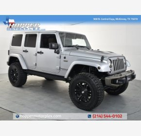 2016 Jeep Wrangler 4WD Unlimited Sahara for sale 101255913