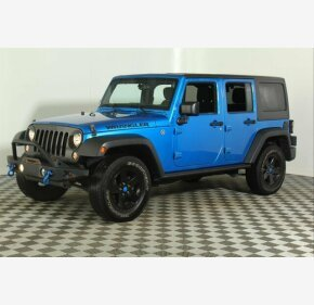 2016 Jeep Wrangler 4WD Unlimited Sport for sale 101257986