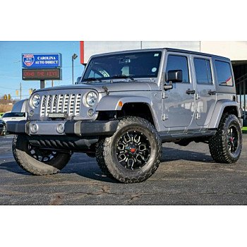 2016 Jeep Wrangler 4WD Unlimited Sahara for sale 101258691
