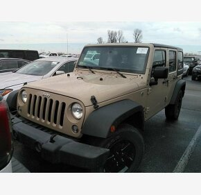 2016 Jeep Wrangler 4WD Unlimited Sport for sale 101259087