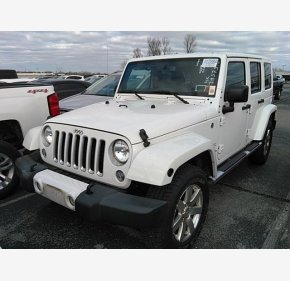 2016 Jeep Wrangler 4WD Unlimited Sahara for sale 101259089