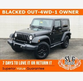 2016 Jeep Wrangler 4WD Sport for sale 101259438