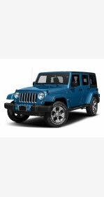 2016 Jeep Wrangler 4WD Unlimited Sahara for sale 101261645