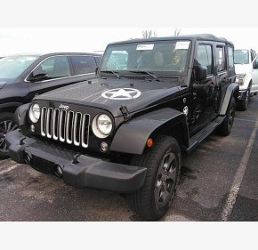 2016 Jeep Wrangler 4WD Unlimited Sahara for sale 101262738