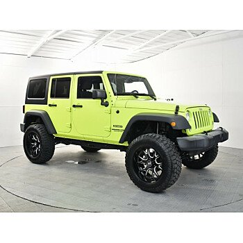 2016 Jeep Wrangler 4WD Unlimited Sport for sale 101264107