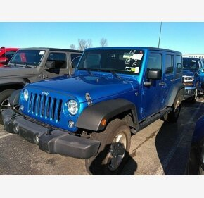 2016 Jeep Wrangler 4WD Unlimited Sport for sale 101265828