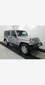 2016 Jeep Wrangler 4WD Unlimited Sahara for sale 101268568