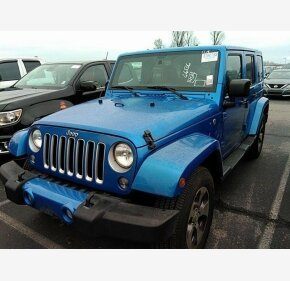 2016 Jeep Wrangler 4WD Unlimited Sahara for sale 101272986