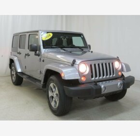 2016 Jeep Wrangler 4WD Unlimited Sahara for sale 101273483