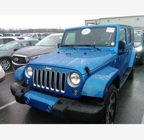 2016 Jeep Wrangler 4WD Unlimited Sahara for sale 101274568