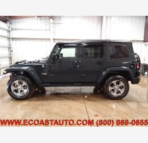 2016 Jeep Wrangler 4WD Unlimited Sahara for sale 101277571
