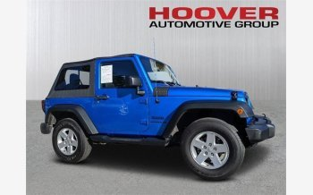 2016 Jeep Wrangler 4WD Sport for sale 101282585