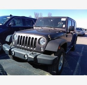 2016 Jeep Wrangler 4WD Unlimited Sport for sale 101283057