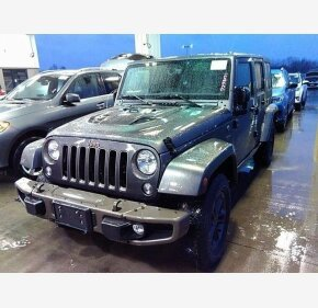 2016 Jeep Wrangler 4WD Unlimited Sahara for sale 101283064
