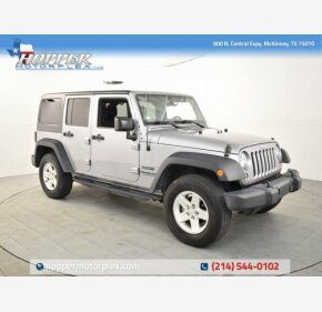 2016 Jeep Wrangler 4WD Unlimited Sport for sale 101284489