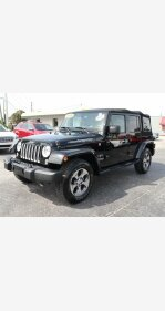 2016 Jeep Wrangler 4WD Unlimited Sahara for sale 101285790