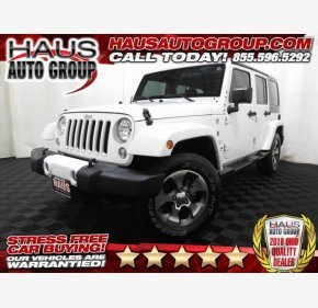2016 Jeep Wrangler 4WD Unlimited Sahara for sale 101286908