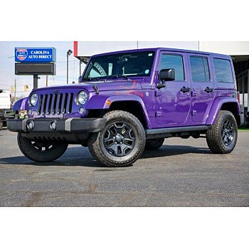 2016 Jeep Wrangler 4WD Unlimited Sahara for sale 101291580