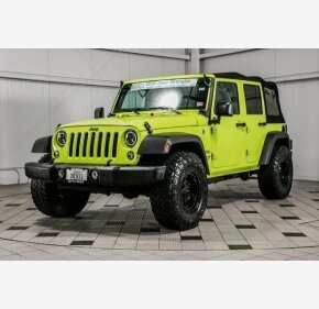 2016 Jeep Wrangler 4WD Unlimited Sport for sale 101329156