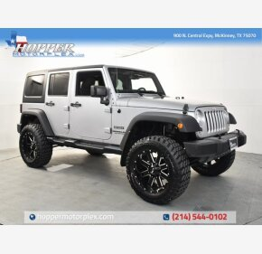 2016 Jeep Wrangler for sale 101337190