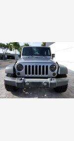2016 Jeep Wrangler for sale 101367909