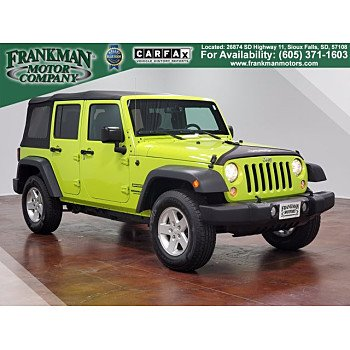 2016 Jeep Wrangler for sale 101375480