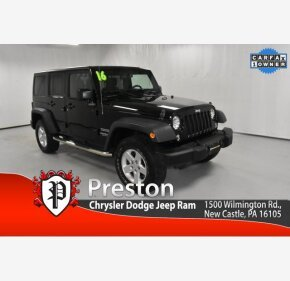 2016 Jeep Wrangler for sale 101376433