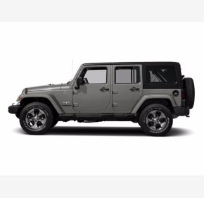 2016 Jeep Wrangler for sale 101377295