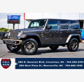 2016 Jeep Wrangler for sale 101378818