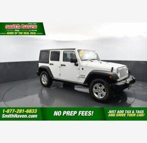 2016 Jeep Wrangler for sale 101389124