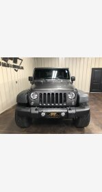 2016 Jeep Wrangler for sale 101390767