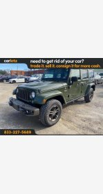 2016 Jeep Wrangler for sale 101418384