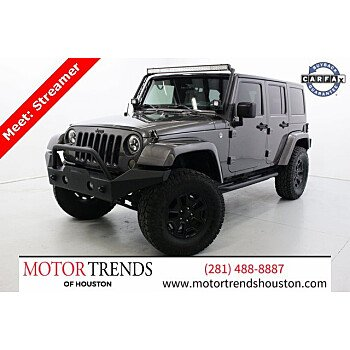 2016 Jeep Wrangler for sale 101434924