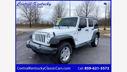 2016 Jeep Wrangler for sale 101444491