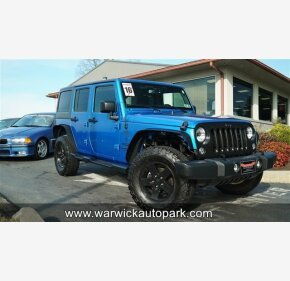2016 Jeep Wrangler for sale 101445085