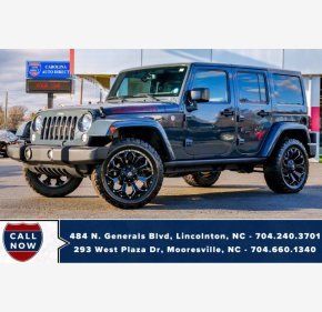 2016 Jeep Wrangler for sale 101449483