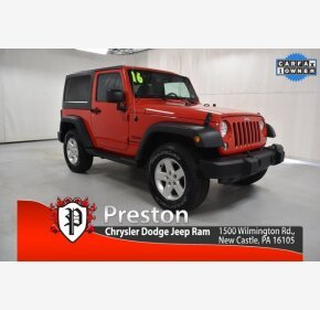 2016 Jeep Wrangler for sale 101486005