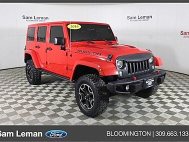 2016 Jeep Wrangler for sale 101491560