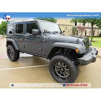 2016 Jeep Wrangler for sale 101507478