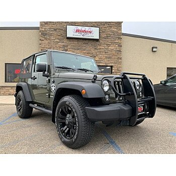 2016 Jeep Wrangler for sale 101625426