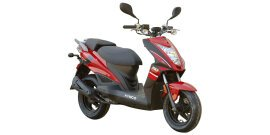 2016 KYMCO Super 8 50 R specifications