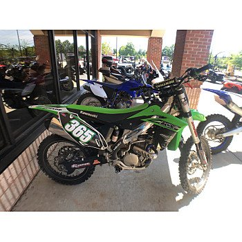 2016 Kawasaki KX250F for sale 200536531