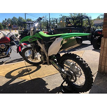 2016 Kawasaki KX250F for sale 200635246