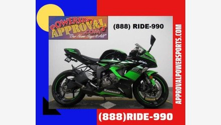 2016 Kawasaki Ninja ZX-6R for sale 200739025