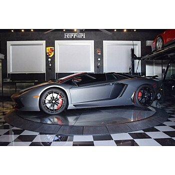 2016 Lamborghini Aventador LP 700-4 Roadster for sale 101201931