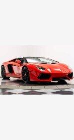 2016 Lamborghini Aventador LP 700-4 Roadster for sale 101345971