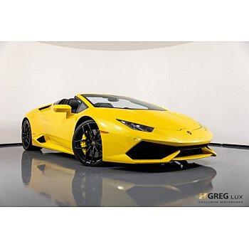 2016 Lamborghini Huracan for sale 101105073