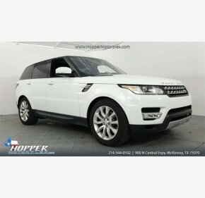 2016 Land Rover Range Rover Sport HSE for sale 101109831