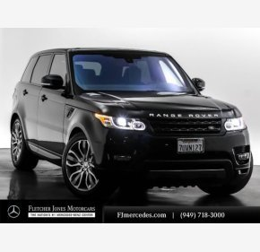 2016 Land Rover Range Rover Sport Supercharged for sale 101285743